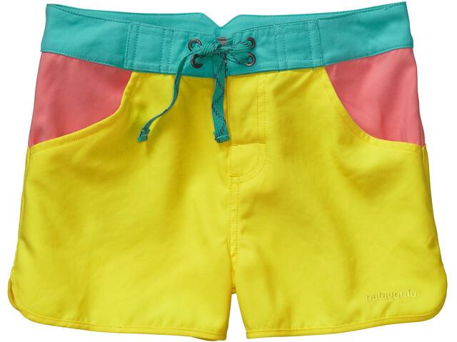 Patagonia Forries Shorey Board Shorts Girls Blazing Yellow